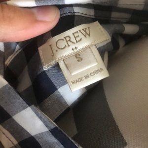 J. Crew Tops - Donating Tomorrow! J. Crew Blue Gingham Shirt